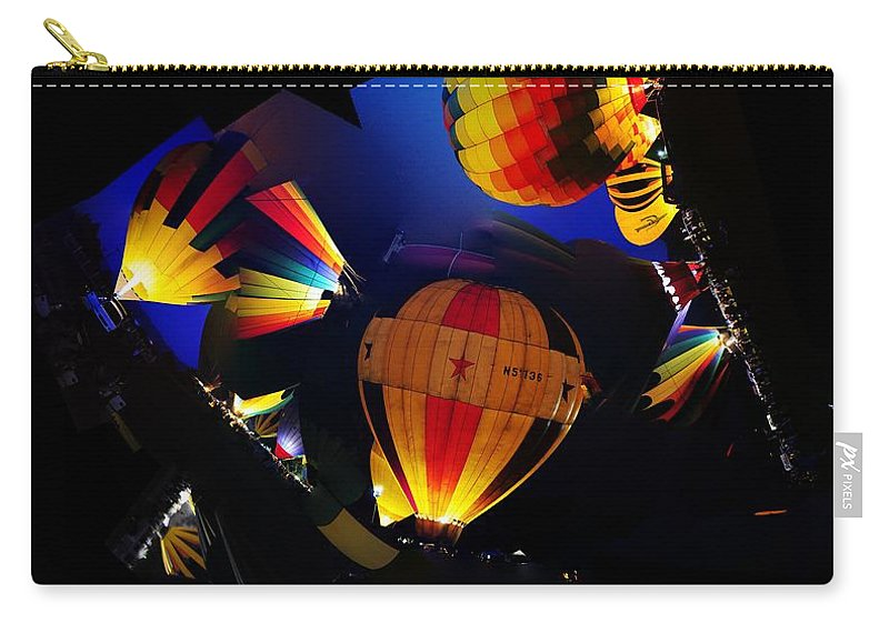 Clay Carry-all Pouch featuring the photograph The Glow by Clayton Bruster