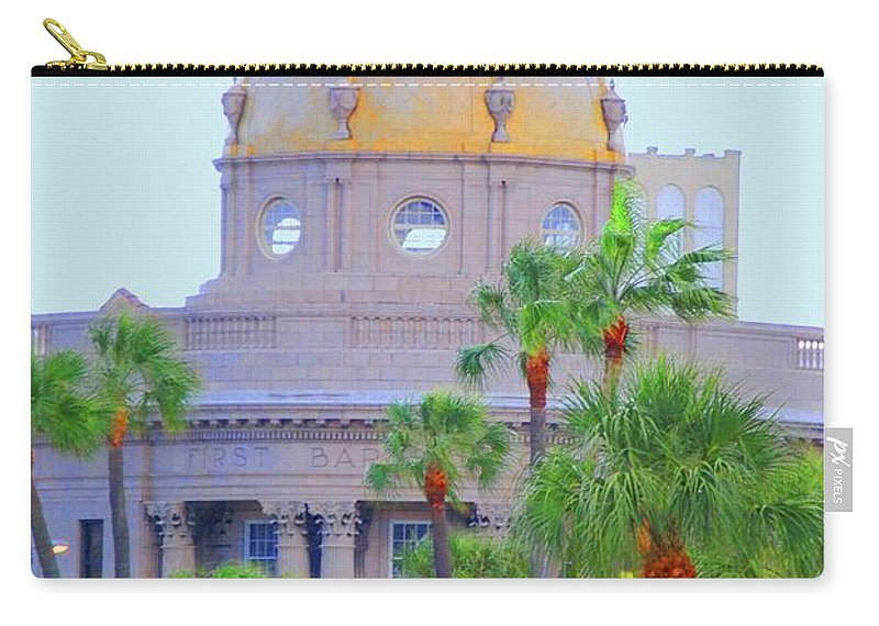 Church Carry-all Pouch featuring the photograph The Gold Dome by Jost Houk