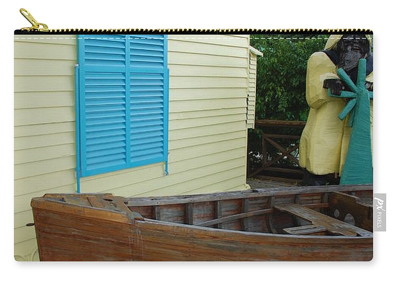 Architecture Carry-all Pouch featuring the photograph The Gordons Fisherman House by Rob Hans