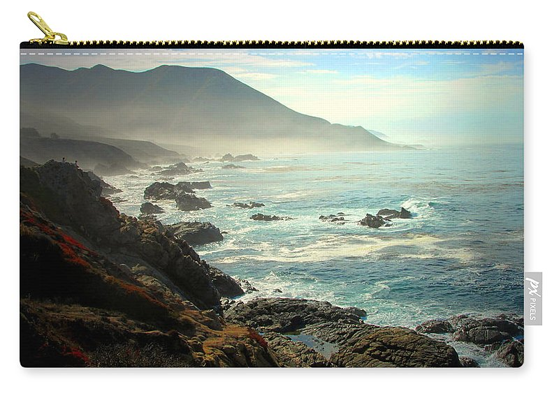Fog Carry-all Pouch featuring the photograph The Gorgeous California Coast by Joyce Dickens