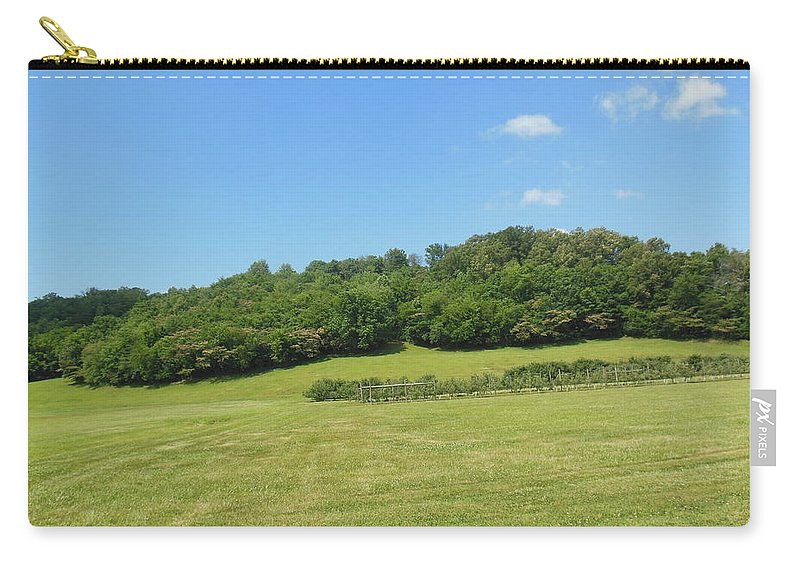 Field Carry-all Pouch featuring the photograph The Grass Is Always Greener by Ali Baucom