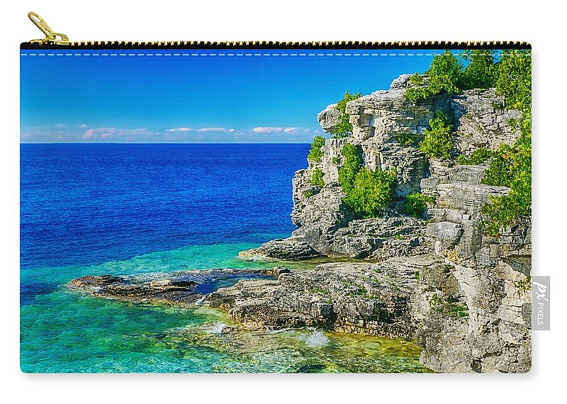 Grotto Carry-all Pouch featuring the photograph The Grotto by Amanda Jones