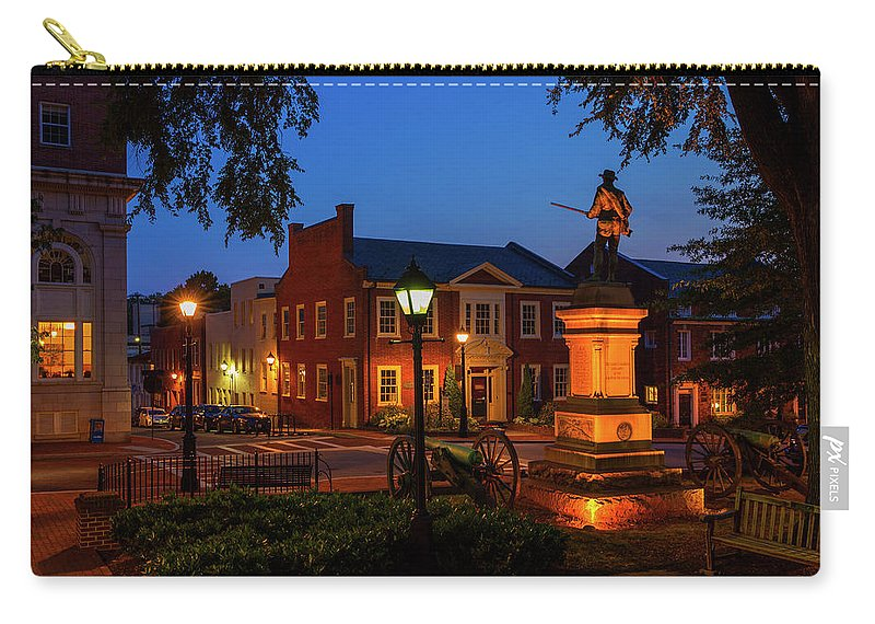 Charlottesville Carry-all Pouch featuring the photograph The Guard by Cliff Middlebrook