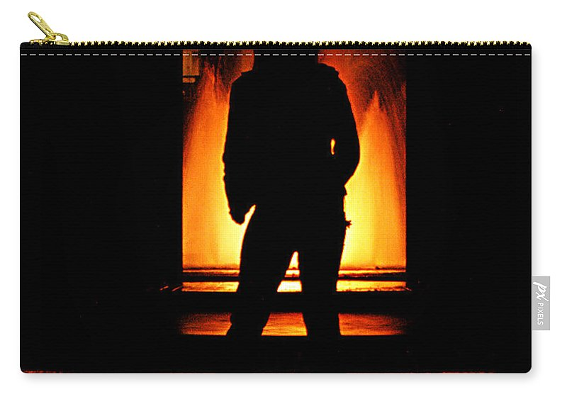 Clay Carry-all Pouch featuring the photograph The Guardian by Clayton Bruster