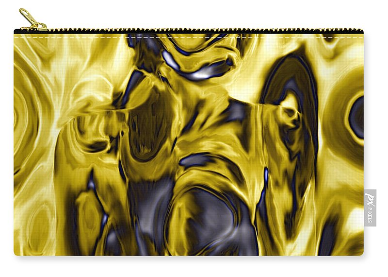 Nudes Carry-all Pouch featuring the photograph The Guardian by Kurt Van Wagner
