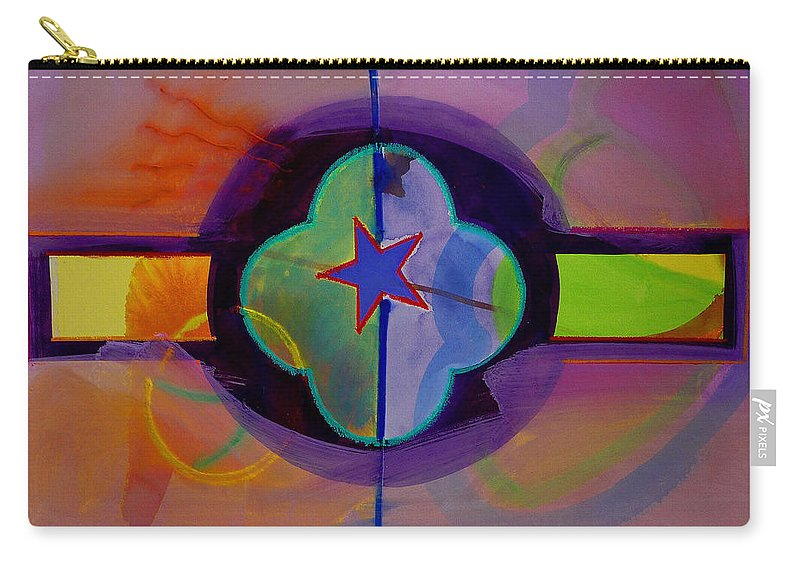 Star Carry-all Pouch featuring the painting The Happy American by Charles Stuart