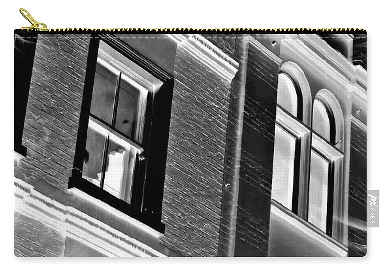 Abstract Carry-all Pouch featuring the photograph The Haunting by Tom Gowanlock
