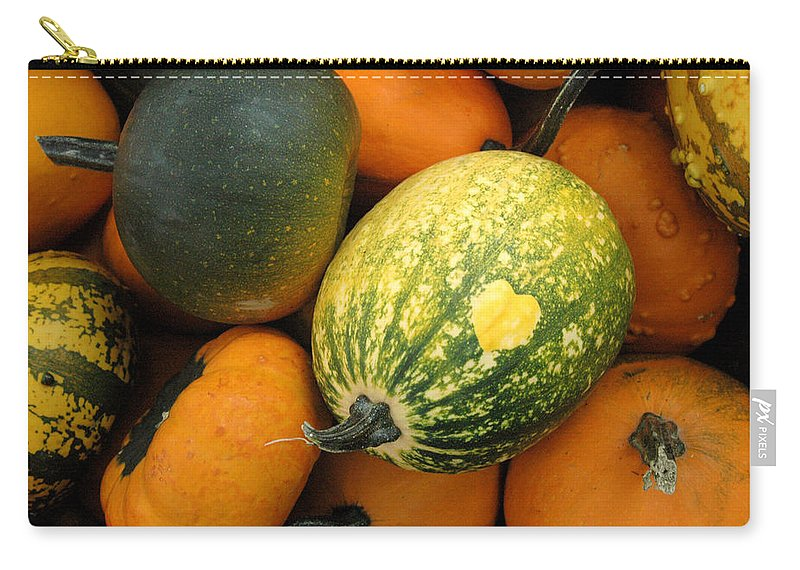 Heart Carry-all Pouch featuring the photograph The Heart Finds It's Way Everywhere by Trish Hale