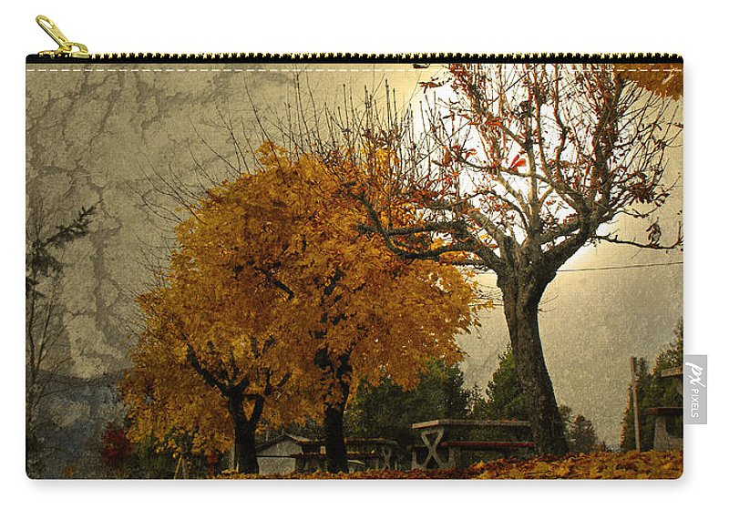 Autumn Carry-all Pouch featuring the photograph The Holder Of Light by Tara Turner