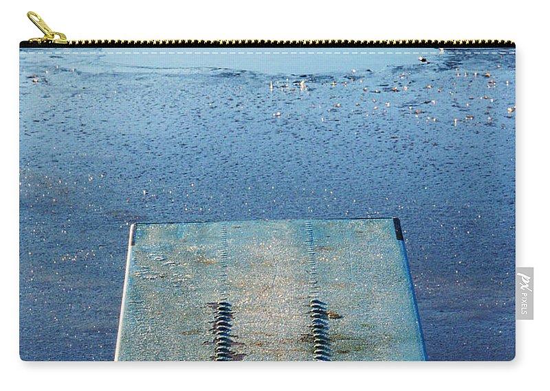 Lehtokukka Carry-all Pouch featuring the photograph The Hole by Jouko Lehto