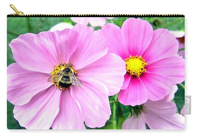 Bee Carry-all Pouch featuring the photograph The Honeymaker by Will Borden
