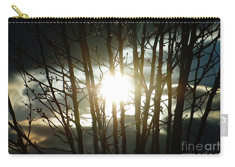 Sun Carry-all Pouch featuring the photograph The In Between by September Stone