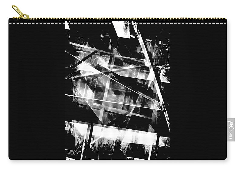 Abstract Carry-all Pouch featuring the photograph The Inner Works by Tom Gowanlock