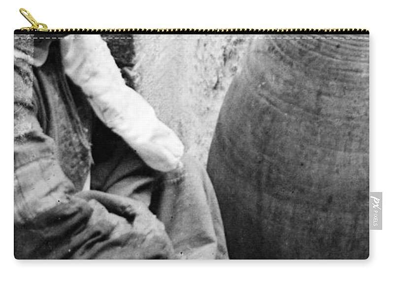 Girl Carry-all Pouch featuring the photograph The Innocent by Munir Alawi