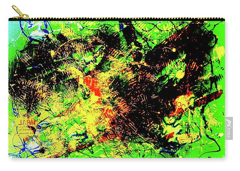 Abstract Carry-all Pouch featuring the painting The Irish Republic by Roberto Prusso