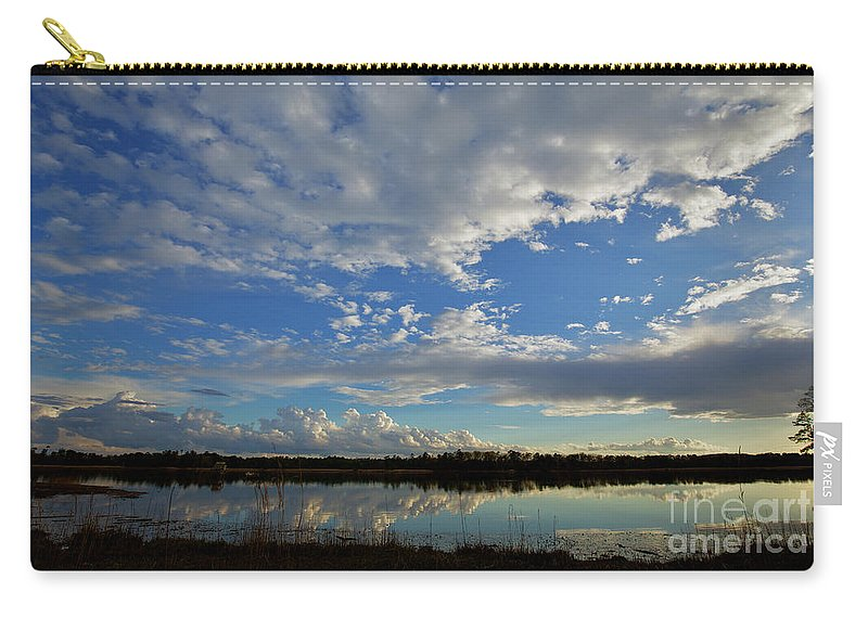 Landscape Carry-all Pouch featuring the photograph The James by Rachel Morrison