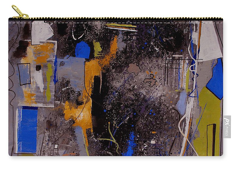 Abstract Carry-all Pouch featuring the painting The Journey by Ruth Palmer