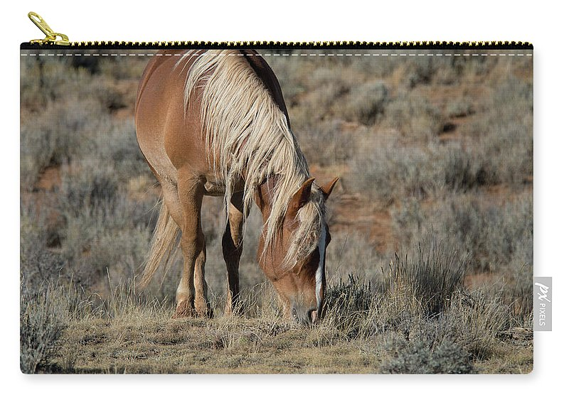 Cody Carry-all Pouch featuring the photograph The Joy of Nature by Frank Madia