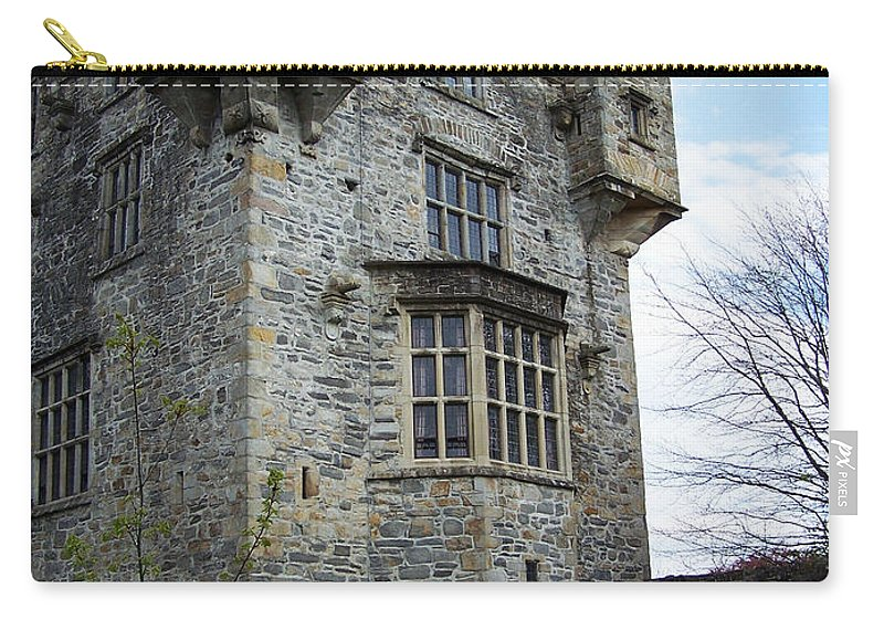 Ireland Carry-all Pouch featuring the photograph The Keep At Donegal Castle Ireland by Teresa Mucha