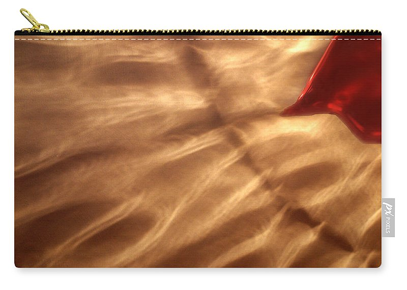Glow Carry-all Pouch featuring the painting The Kiss Of The Sun by RC DeWinter