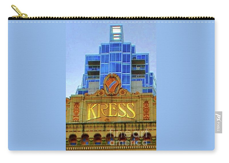 Kress Carry-all Pouch featuring the photograph The Kress by Jost Houk