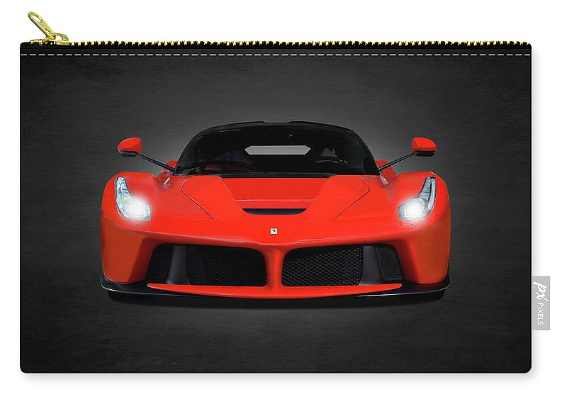 Ferrari Carry-all Pouch featuring the photograph The Laferrari by Mark Rogan