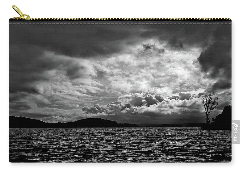 Nature Carry-all Pouch featuring the photograph The Lake by John K Sampson