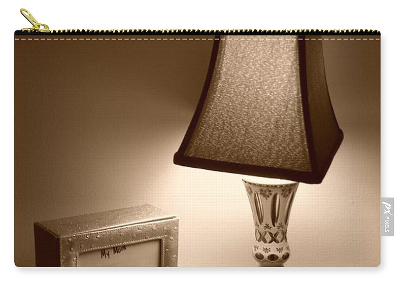 Lights Carry-all Pouch featuring the photograph The Lamp by Rob Hans