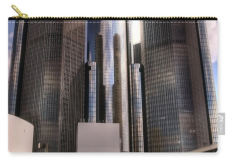 Detroit Carry-all Pouch featuring the photograph The Land Of Oz by Gordon Dean II