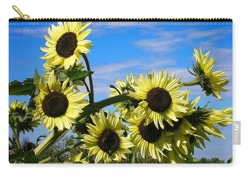 Flowers Carry-all Pouch featuring the photograph The Last of Summer by Steve Karol
