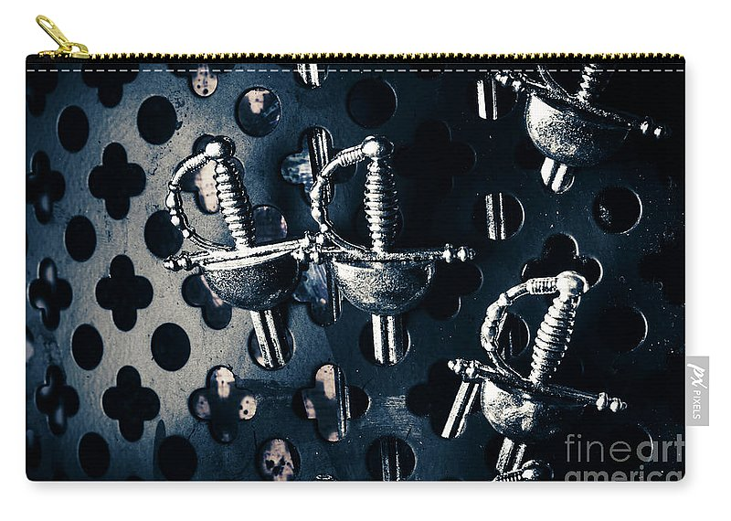 Vintage Carry-all Pouch featuring the photograph The Last Stand by Jorgo Photography - Wall Art Gallery