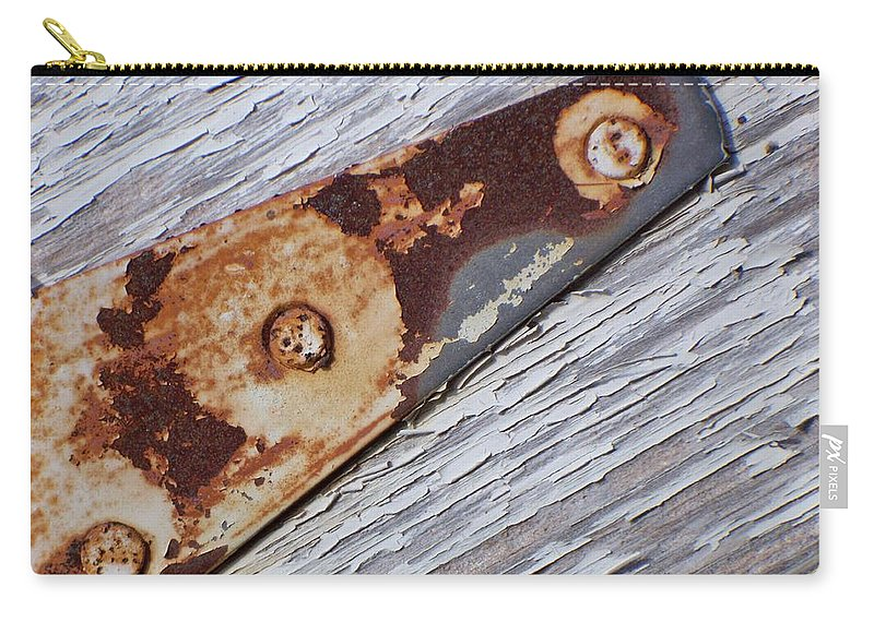 Latch Carry-all Pouch featuring the photograph The Latch by Betty Northcutt
