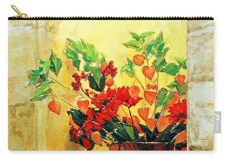 Still Life Carry-all Pouch featuring the painting The Light by Iliyan Bozhanov