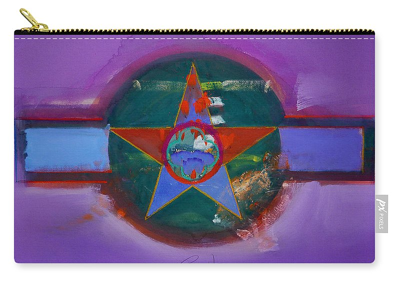 Star Carry-all Pouch featuring the painting The Lighthouse Keeper by Charles Stuart