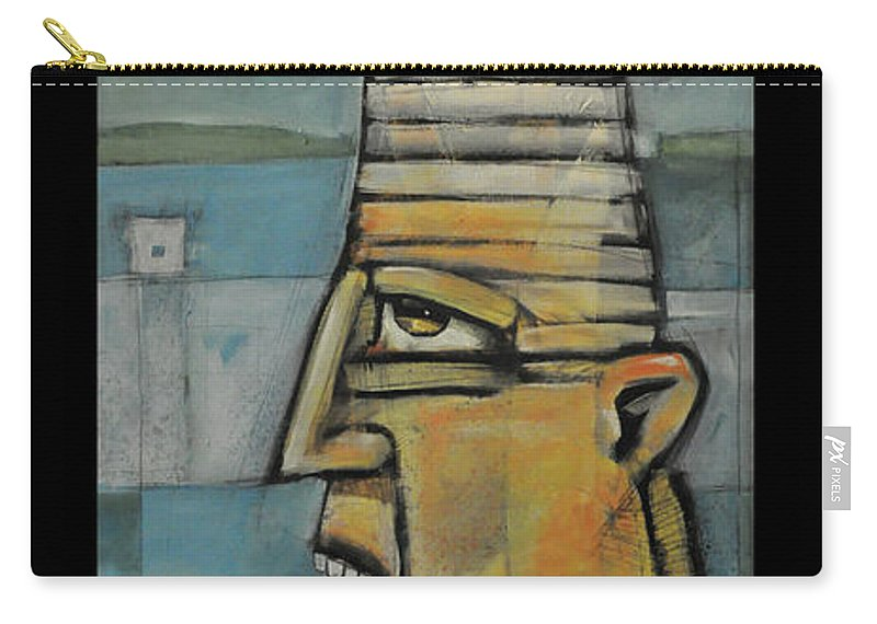 Lighthouse Carry-all Pouch featuring the painting The Lighthouse Keeper Poster by Tim Nyberg