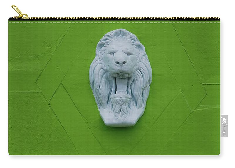 Lion Carry-all Pouch featuring the photograph The Lion by Rob Hans