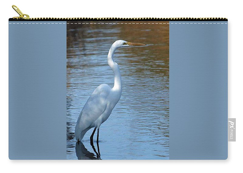 Ann Keisling Carry-all Pouch featuring the photograph The Loner by Ann Keisling