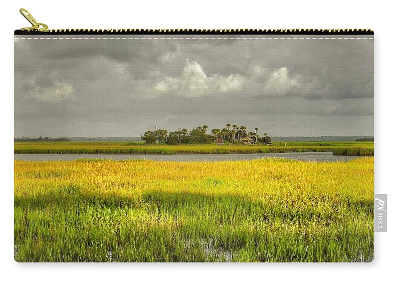Marsh Carry-all Pouch featuring the photograph The Lovely Low Country by Patricia Greer
