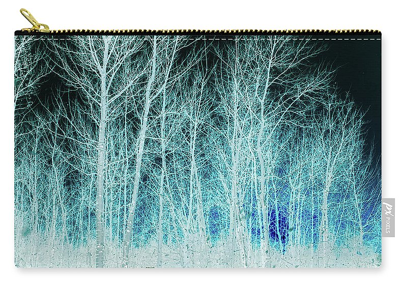 Magic Carry-all Pouch featuring the photograph The Magic Forest by Cristina Stefan