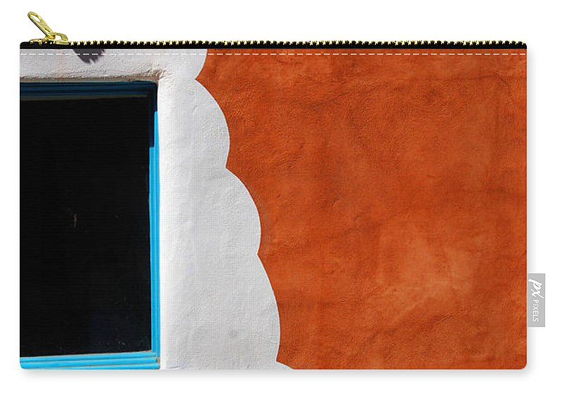 Photography Carry-all Pouch featuring the photograph The Magic Of Santa Fe by Susanne Van Hulst