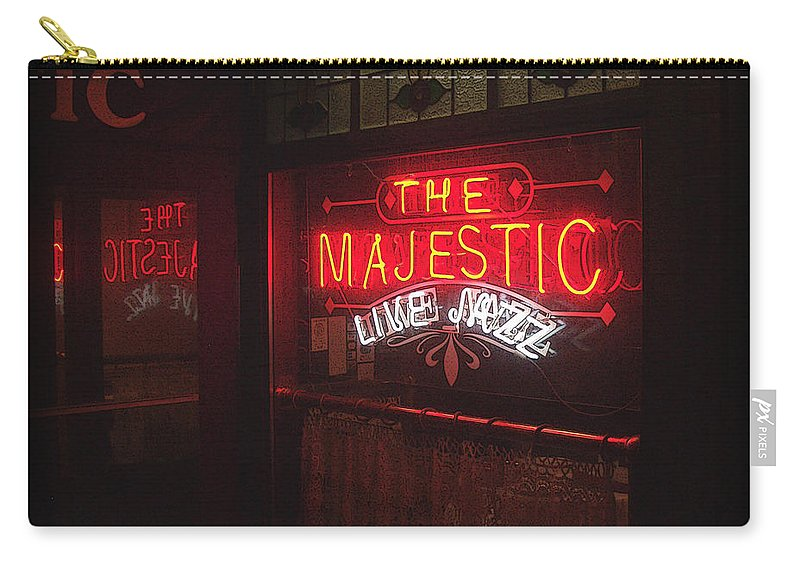 Majestic Carry-all Pouch featuring the photograph The Majestic by Tim Nyberg