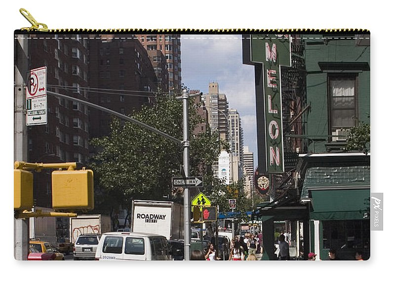 Woman Carry-all Pouch featuring the photograph The Manhattan Sophisticate by Madeline Ellis