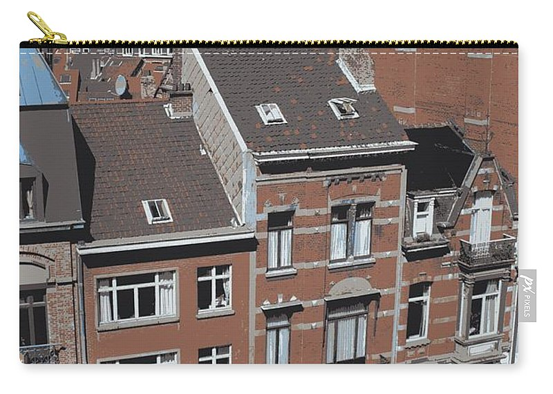 Brussels Carry-all Pouch featuring the photograph The Many Layers Of Brussels by Carol Groenen