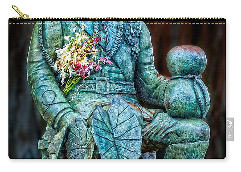 Merrie Monarch Carry-all Pouch featuring the photograph The Merrie Monarch by Christopher Holmes