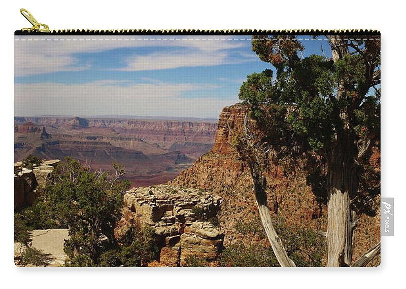 Grand Canyon Carry-all Pouch featuring the photograph The Miracle Of Nature by Christiane Schulze Art And Photography