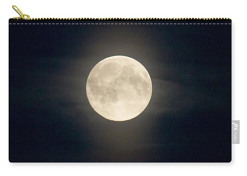 Lehtokukka Carry-all Pouch featuring the photograph The Moon 2 by Jouko Lehto