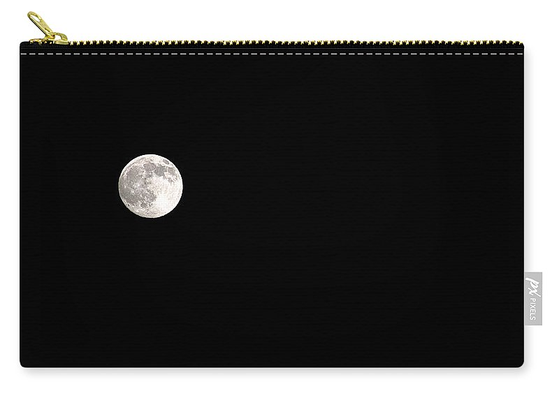 Clay Carry-all Pouch featuring the photograph The Moon by Clayton Bruster