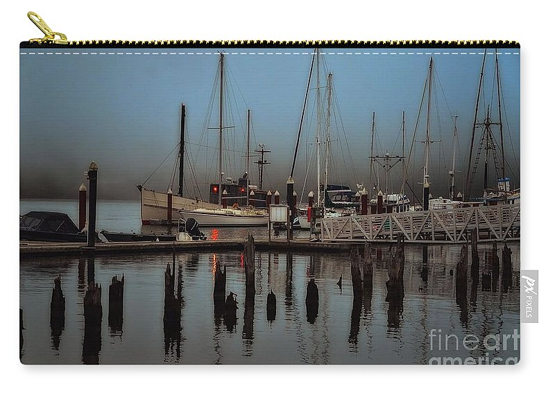 Water Carry-all Pouch featuring the photograph The Mooring by Lauren Leigh Hunter Fine Art Photography