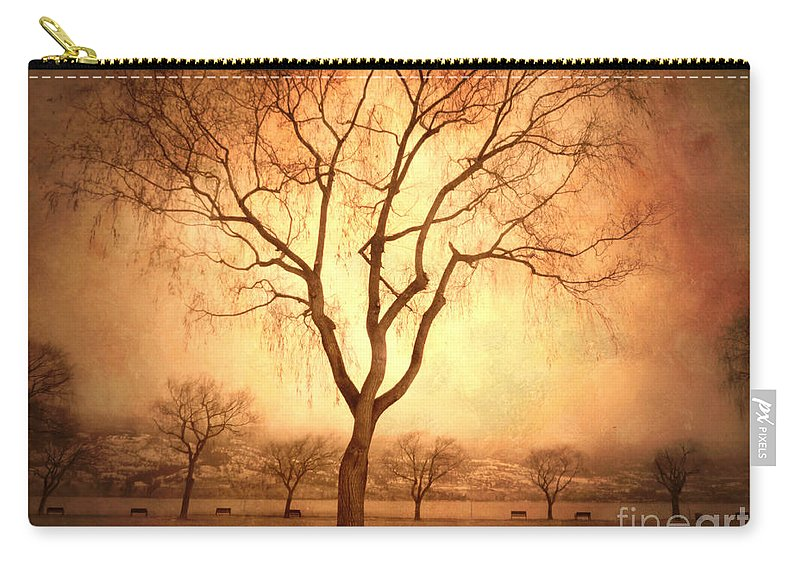 Trees Carry-all Pouch featuring the photograph The Mother Tree by Tara Turner