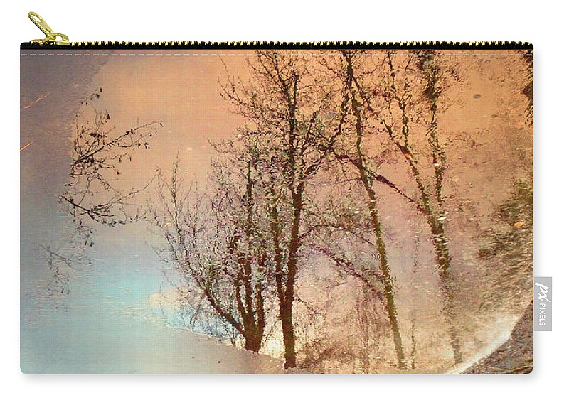 Ice Carry-all Pouch featuring the photograph The Movement Of Ice by Tara Turner